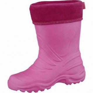 Beck Ultraleicht Mädchen Winter Gummistiefel pink aus EVA, wasserdicht, molliges Warmfutter, bis -30 Grad, 5037102