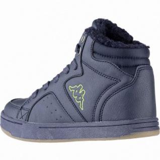 Kapppa Nanook coole Jungen Synthetik Winter Sneakers navy, Warmfutter, herausnehmbares Fußbett, 3741127/36 - Vorschau 2