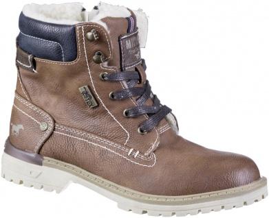 MUSTANG Jungen Winter Synthetik Tex Boots kastanie, Warmfutter, warme Decksohle