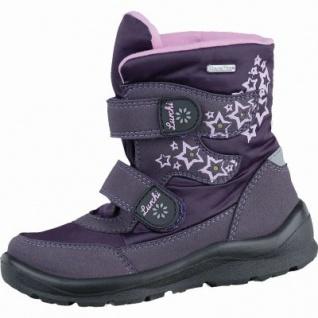 Lurchi Kelly Sympatex Mädchen Synthetik Boots aubergine, breitere Passform, Warmfutter, warmes Fußbett, 3737200