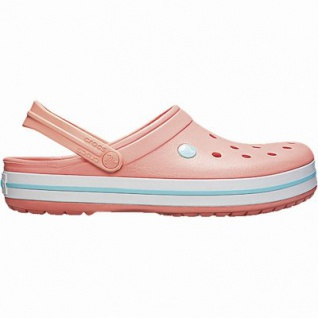Crocs Crocband leichte Damen Crocs melon, Croslite Foam-Fußbett, Belüftungsöffnungen, 4342104/36-37