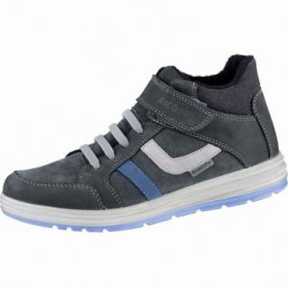 Ricosta Lennard Jungen Winter Leder Sneakers grigio, Warmfutter, warmes Fußbett, 3739184