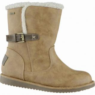 Jane Klain modische Damen Synthetik Winter Tex Stiefel cognac, Warmfutter, warme Decksohle, 1639183