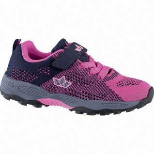 Lico Jumper VS sportliche Mädchen Nylon Sneakers pink, Textilfutter, Textil E...