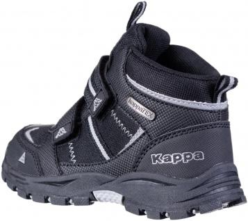 KAPPA Hovet Tex Jungen Winter Synthetik Boots black, Kappa Tex Waterproof Aus... - Vorschau 3
