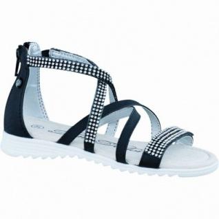 TOM TAILOR modische Mädchen Synthetik Sandaletten black, Tom-Tailor-Decksohle, Fersen-Reißverschluss, 3536106/39