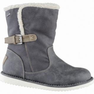 Jane Klain modische Damen Synthetik Winter Tex Stiefel grau, Warmfutter, warme Decksohle, 1639184
