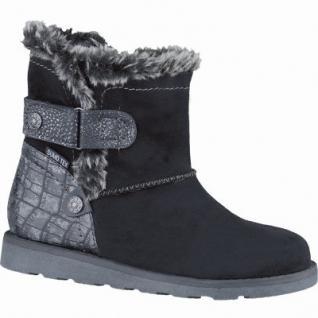 Be Mega Mädchen Synthetik Sumo-Tex Boots black, molliges Warmfutter, Fußbett, 3737211