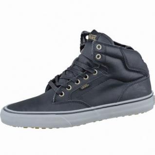 Vans Winston Hi Herren High Winter Synthetik Sneakers black dull gold, Warmfutter, Vans-Decksohle, 2137102