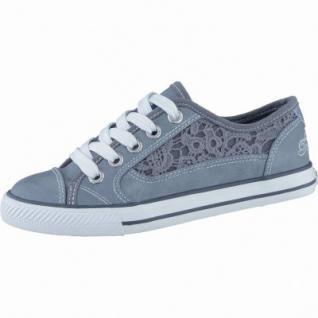 TOM TAILOR modische Mädchen Synthetik Sneakers blue, Macramé, TOM TAILOR Laufsohle, 3338133/31