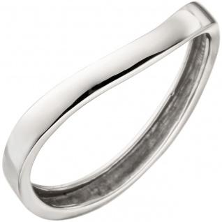 Damen Ring 375 Gold Weißgold Weißgoldring