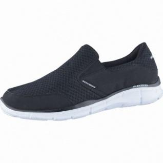 Skechers Equalizer Persistent coole Herren Mesh Sneakers black, Memory-Foam-Fußbett, 4238174