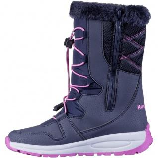 KANGAROOS K-Glaze RTX Mädchen Winter Synthetik Boots navy, molliges Warmfutte... - Vorschau 3
