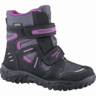 Superfit Mädchen Synthetik Winter Tex Boots black, molliges Warmfutter, warmes Fußbett, 3739142