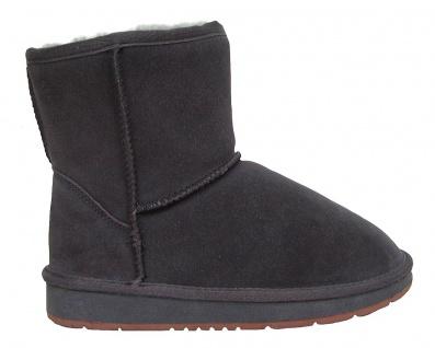 Heitmann Felle Damen Lammfell Leder Winter Boots anthrazit, warme Laufsohle, ... - Vorschau 4