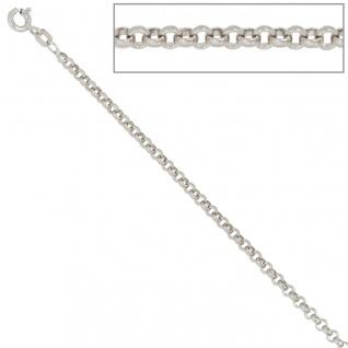 Erbskette 925 Sterling Silber 2, 5 mm 50 cm Halskette Kette Silberkette Federring