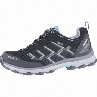 Meindl Activo Lady GTX Damen Velour-Mesh Trekking Schuhe schwarz, Air-Active-...