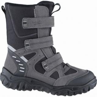 Superfit Jungen Winter Synthetik Gore Tex Boots stone, Warmfutter, warmes Fußbett, 4539106/33