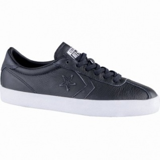 Converse Breakpoint coole Damen Leder Sneakers Low black, Meshfutter, 1239113/36