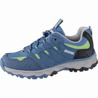 best sneakers b0d36 2155e Meindl Topino Junior Jungen Velour Mesh Trekking Schuhe petrol,  Climafutter, Air-Active-Fußbett, 4442113/26