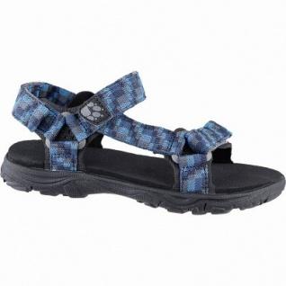 Jack Wolfskin Seven Seas 2 Sandal B Jungen Polyester Sandalen glacier blue, Neoprenpolster-Pads, 3542178/28