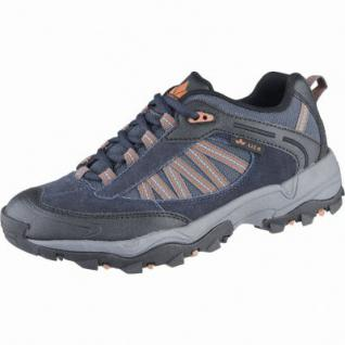 Lico Falcon Herren Leder Trekking Schuhe marine, Textil Einlegesohle, 4439136/38