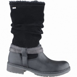 Lurchi Lia Mädchen Winter Leder Tex Stiefel black, Warmfutter, warmes Fußbett, mittlere Weite, 3739132/39