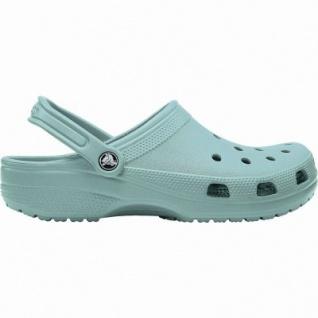Crocs Classic coole Damen Clogs tropical teal, Massage-Fußbett, Belüftungsöffnungen, 4340107/38-39