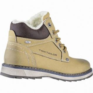 TOM TAILOR Jungen Leder Imitat Winter Tex Boots camel, 8 cm Schaft, molliges Warmfutter, warmes Fußbett, 3741154 - Vorschau 2