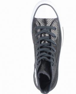 Converse Chuck Taylor All Star-Metallic Snake Leather-HI coole Damen Canvas Metallic Sneakers black, 4238195/36 - Vorschau 2