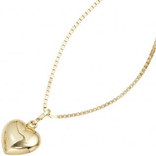 Kinder Anhänger Herz 333 Gold Gelbgold Herzanhänger Kinderanhänger