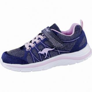 online store 093ac 639fd Kangaroos Kanga Girl Mädchen Synthetik Sneakers metallic blue,  Laschen-Tasche, 4039118/28