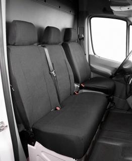 Passform Transporter Sitzbezüge VW Crafter, passgenauer Stoff Sitzbezug Einze...