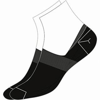 Camano Basic NOS Invisible black, 2er Pack Damen, Herren unsichtbare Sneaker ...