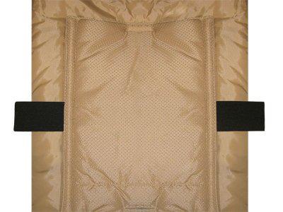 molliger Baby Winter Fleece Fußsack schwarz, für Tragschalen, Autositze, ca. 79x39 cm - Vorschau 2