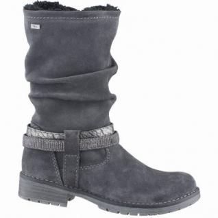 Lurchi Lia Mädchen Winter Leder Tex Stiefel charcoal, Warmfutter, warmes Fußbett, mittlere Weite, 3739131/31