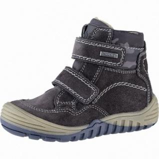 Richter warme Jungen Leder Tex Boots steel, mittlere Weite, Warmfutter, warmes Fußbett, 3741238/27