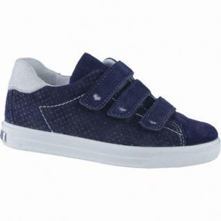 Ricosta Ashley coole Mädchen Leder Sneakers nautic, Ricosta-Fußbett, mittlere Weite, 3338176