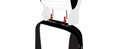 Komplett Set ZIPP IT Universal PES Jersey Auto Sitzbezüge grau 8-teilig, 30 Grad waschbar, Rücksitzbankbezug 5-teilig - Vorschau 2