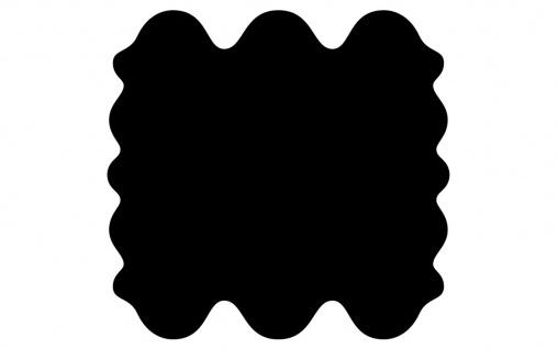 exklusive Lammfell Fellteppiche schwarz gefärbt, 6 Einzelfelle, waschbar, Haa...