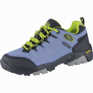 Brütting Mount Shasta Kids Low Mädchen, Jungen Synthetik Trekking Schuhe petrol, Comfortex Klimamembrane, 4440119/34 - Vorschau 1