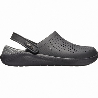 Crocs Lite Ride Clog superweiche + leichte Damen, Herren Clogs black, Massage...
