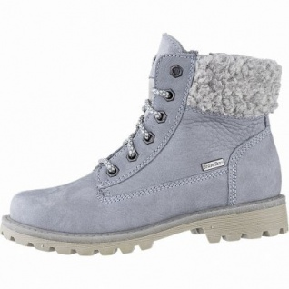 Richter Mädchen Leder Tex Boots sky, 11 cm Schaft, mittlere Weite, Warmfutter, warmes Fußbett, 3741224/36