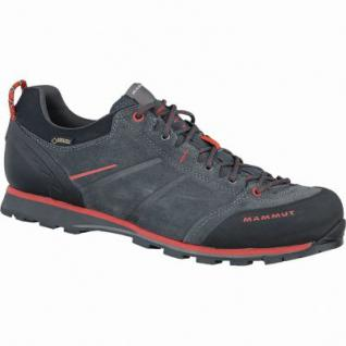 Mammut Wall Guide Low GTX Men Herren Leder Goretex Outdoor Schuhe graphite, Gripex Approach-Laufsohle, 4437144/7.0