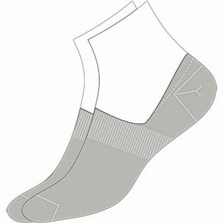 Camano Basic NOS Invisible grey, 2er Pack Damen, Herren unsichtbare Sneaker S...