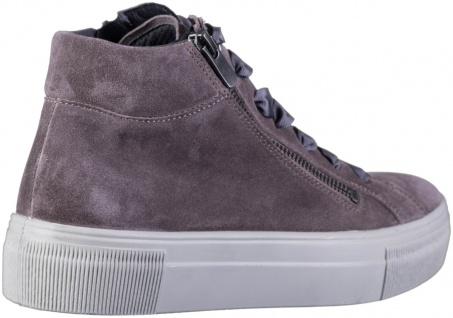 LEGERO Damen Leder Sneakers dark clay, Comfort Weite G, Textilfutter - Vorschau 2