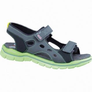 Ricosta Miro modische Jungen Synthetik Sandalen schwarz, Ricosta Fußbett, mittlere Weite, 3536134/37