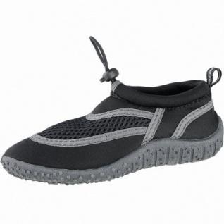 Beck Aqua Mädchen, Jungen Textil Wasserschuhe, Badeschuhe schwarz, schnelltrocknendes Textil, 4340130/34