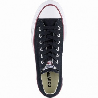 Converse Chuck Taylor All Star Lift - Ox Damen Canvas Sneakers black, 40 mm Plateausohle, 4142136/36 2