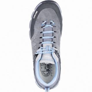 Meindl Ontario Lady GTX Damen Leder Trekking Schuhe grau, Air-Active-Fußbett, 4439119/4.0 - Vorschau 2